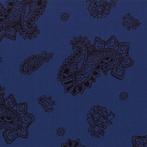 11213-12  King of the Ranch - Dark Blue
