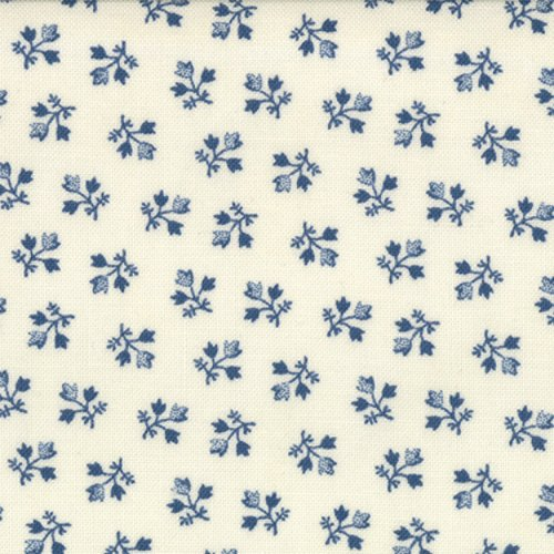 14755-14 Indigo Crossing Ivory Blue