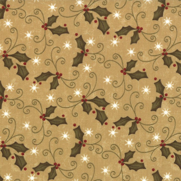 17665-12 Merry Medley Holly Ivory