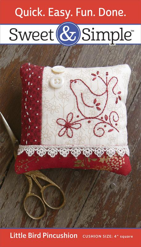 S800 - Little Bird Pincushion