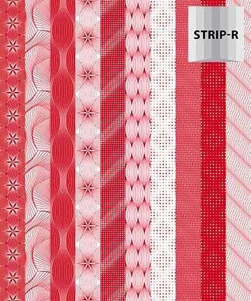 20823-24  Red & White