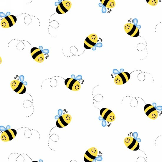 3671-9 - Yellow Double Gauze Buzzy Bee