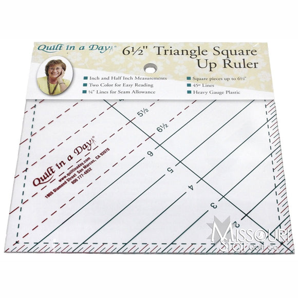 TRIANGLE SQUARE UP RULER 6.5