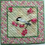 "504 - Petal Play ""Chickadee"" by Joan Shay"