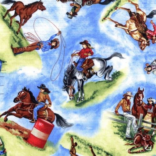 BTR6468 Sky Round Up II-Cowgirls