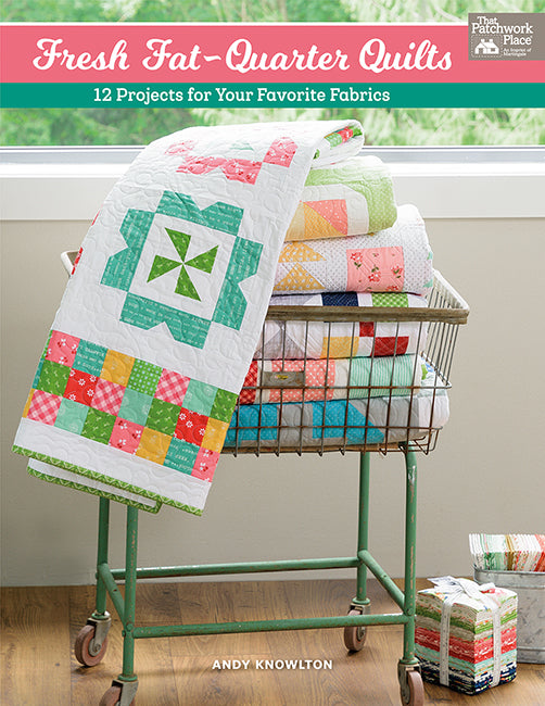 B1497 - Fresh Fat-Quarter Quilts