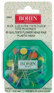 26661 Flower Head Pin Fine Sharps Assorted Colors