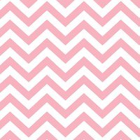 Chevron Stripes Pastel Pink