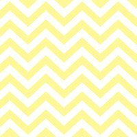 Baby Chevron Stripes Pastel Yellow
