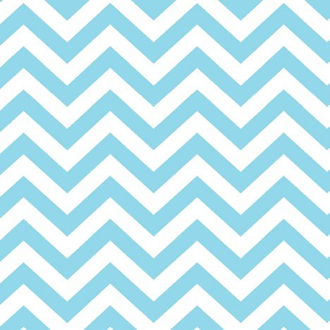 Baby Chevron Stripes Pastel Blue