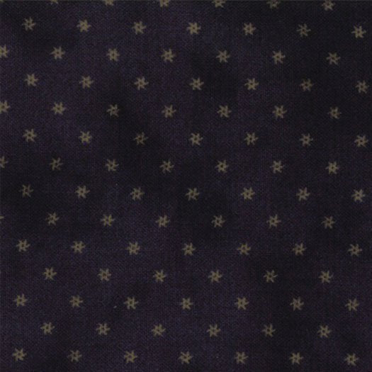 1082-15  Navy background with Tan Swirling Stars