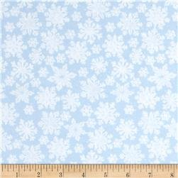 103-61720  Snowflakes on Powder Blue