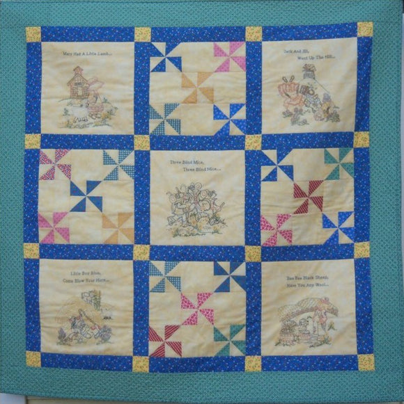 UH1016 NURSERY RHYME MEMORIES - LAP QUILT
