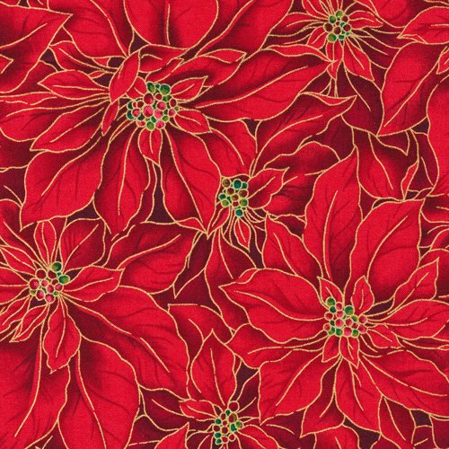 36002 Red Poinsettia
