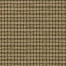 12010-23  Chocolate Gold Woven Plaid