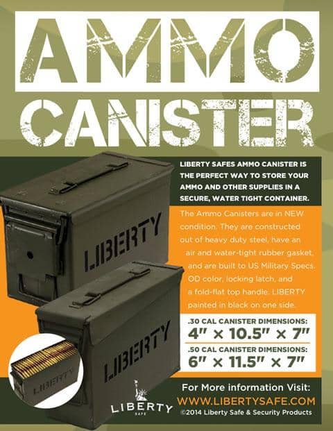 Ammo Canister .50 Caliber