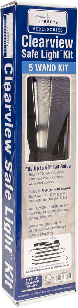 Clearview Electrical LED 5-Wand Light Kit
