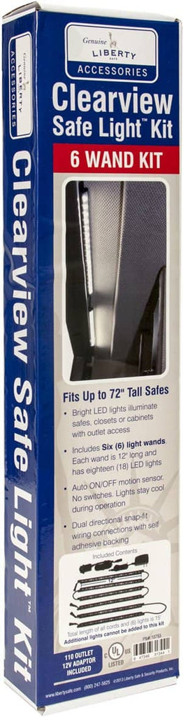 Clearview Electrical LED 6-Wand Light Kit
