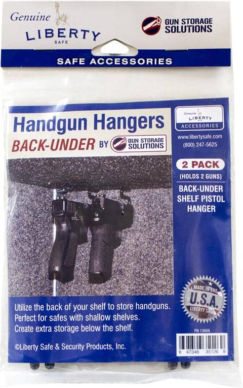 Handgun Hangers Back Under (2 Pack)