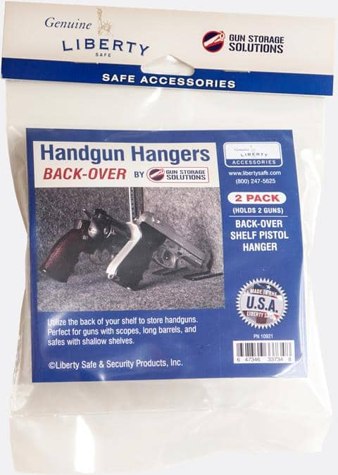 Handgun Hangers Back Over (2 Pack)