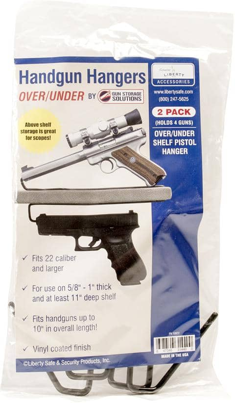 Handgun Hangers Over/Under (2 Pack)