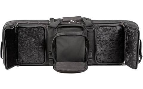 Rifle / Handgun Combo Cases 42 Inch Rifle / Handgun Case (Black)