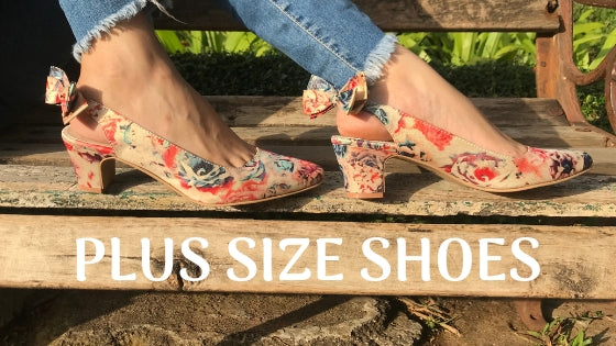 BIG FEET PROBLEMS? SOLVED! - PLUS SIZE SHOES