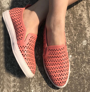 Coral Loafer Shoes - Ness
