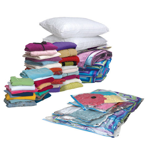 3 Pcs Vacuum Storage Bags For Clothes Pillows And Blankets