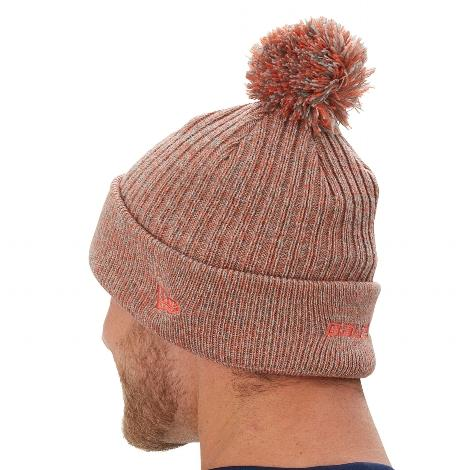 Bauer Pom Knitt Team Mütze mit Bommel - Senior - orange/anthrazit