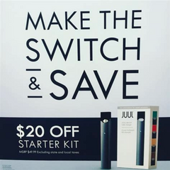 "Juul ""Make the Switch"" Campaign"