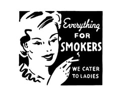 Retro Cigarette Ad