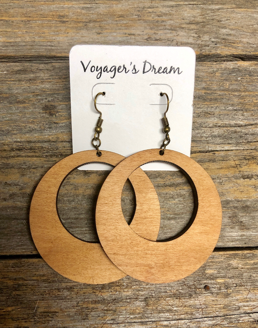 Maple Wooden Hoops