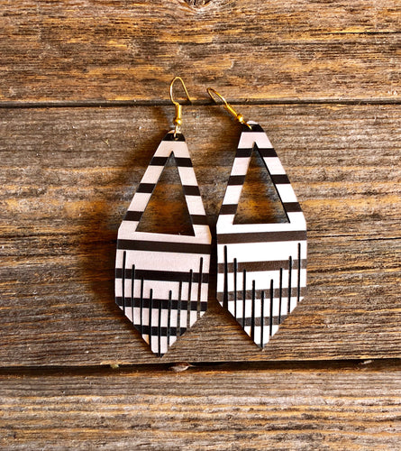Triangle Fringe - Stripe