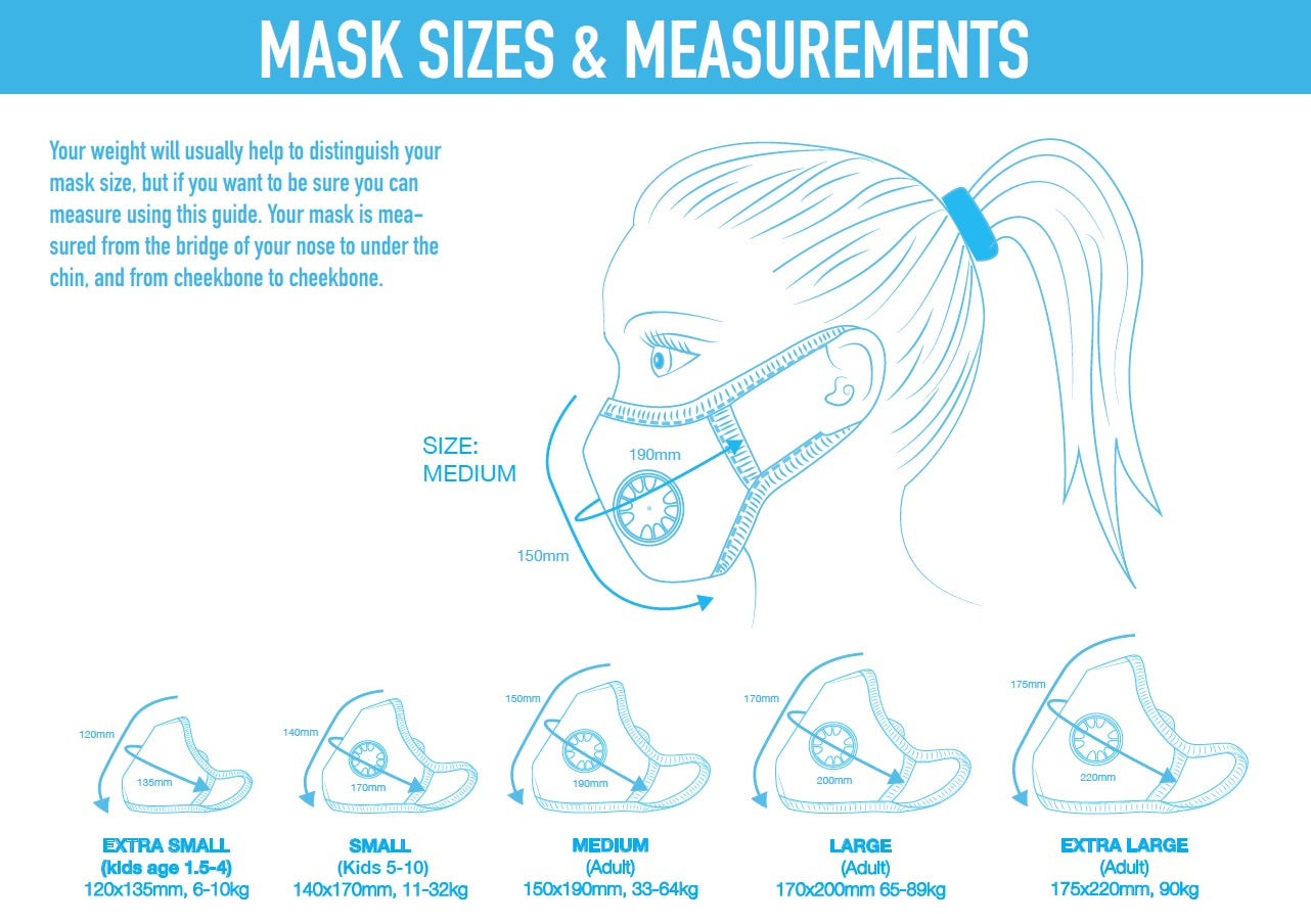 Cambridge Masks - 防霧霾防菌N99口罩 - 鬼魅, Air pollution N99 mask- Duke