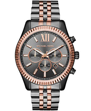 Michael Kors Watches Lexington Two-Tone Chronograph Watch (MK8561)