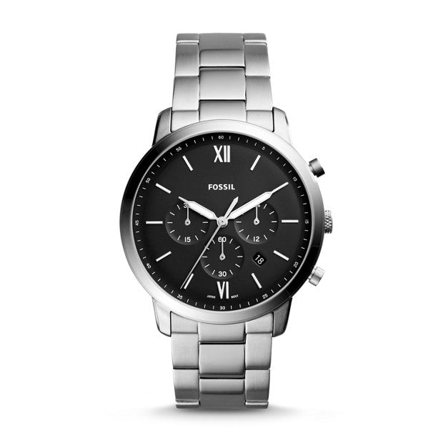 Fossil Neutra Chronograph Stainless Steel Watch (FS5384)