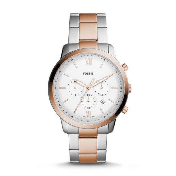 Fossil Neutra Chronograph Two-Tone Stainless Steel Watch (FS5475)