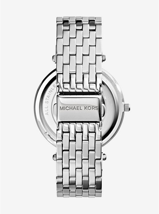 Michael Kors Parker Silver Dial Stainless Steel Chronograph Ladies Watch (MK5353)