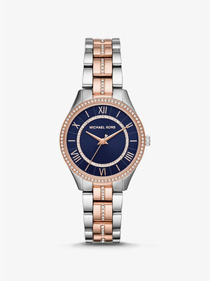Michael Kors Women's Lauryn Three-Hand Two-Tone Stainless Steel Watch (MK3929)