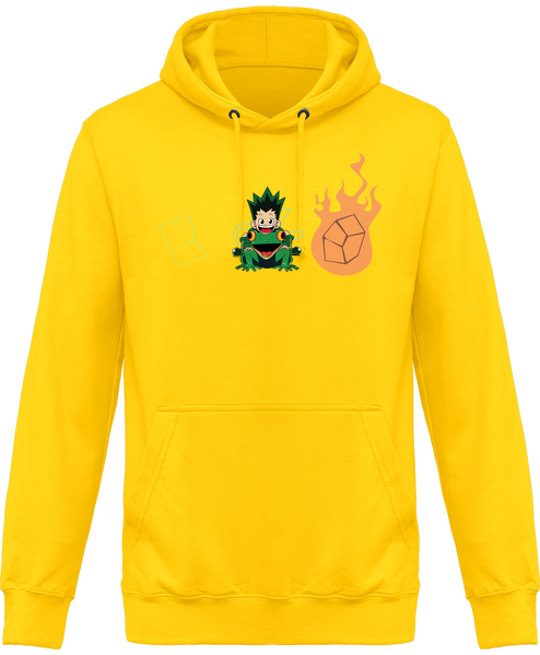 SWEAT À CAPUCHE HUNTER X HUNTER GON JANKEN