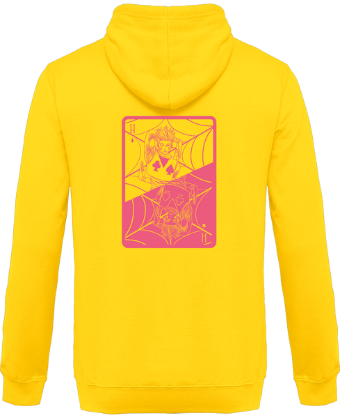 SWEAT À CAPUCHE HUNTER X HUNTER CARTE HISOKA