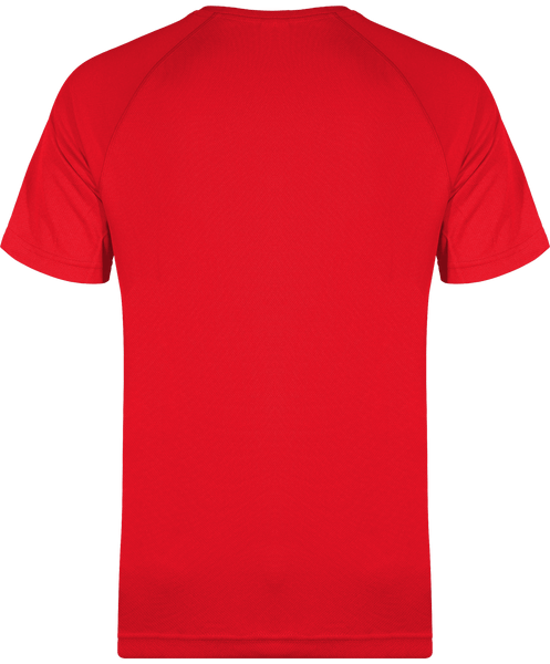T-SHIRT DE SPORT ONE PIECE 9 FOURREAUX ROUGES