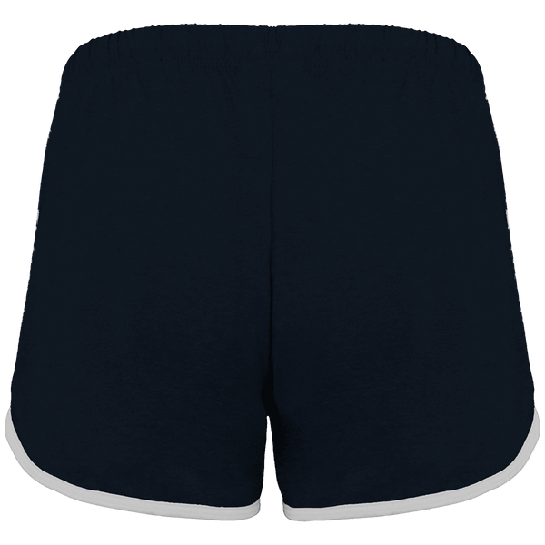 SHORT DE SPORT FEMME DEATH NOTE LIGHT YAGAMI (BLANC) - mangas-shop.com