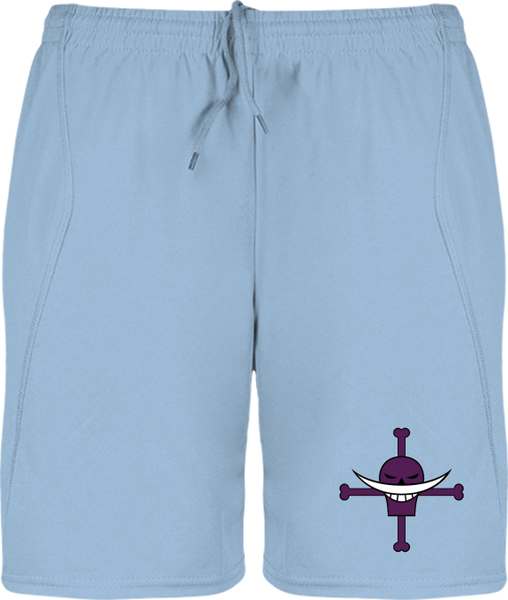 SHORT DE SPORT ONE PIECE SYMBOLE DE BARBE BLANCHE - mangas-shop.com