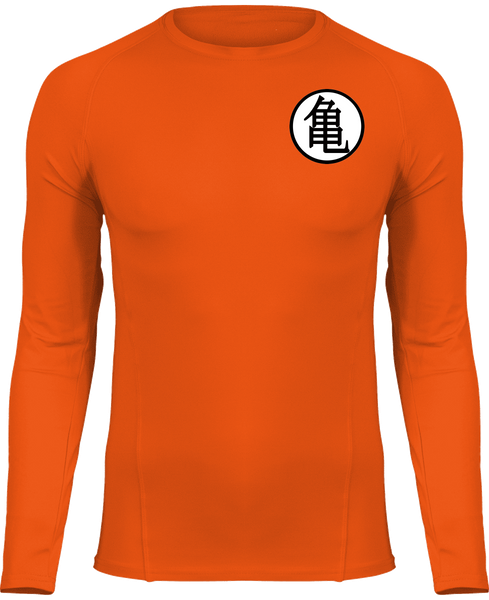 "T-SHIRT DE COMPRESSION DRAGON BALL Z KANJI ""KAMÉ"" - mangas-shop.com"