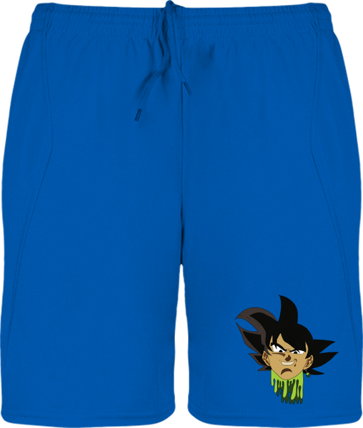 SHORT DE SPORT DRAGON BALL SUPER BLACK GOKU - mangas-shop.com