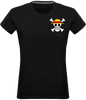 T-SHIRT FEMME ONE PIECE SYMBOLE DE LUFFY - mangas-shop.com