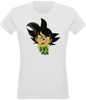 T-SHIRT FEMME DRAGON BALL SUPER BLACK GOKU - mangas-shop.com