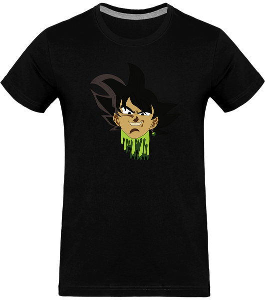T-SHIRT DRAGON BALL SUPER BLACK GOKU - mangas-shop.com